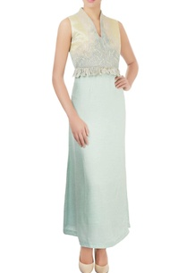 mint-green-dress-with-embroidery-beadwork