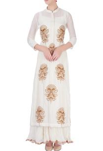 ivory-maxi-dress-with-embroidered-kurta