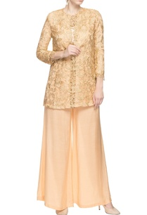 beige-pant-set-with-lace-top