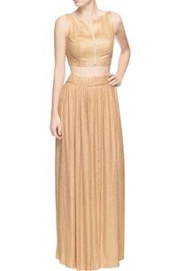 beige-skirt-set-with-textured-effect