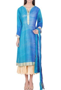 royal-blue-tunic-with-dupatta