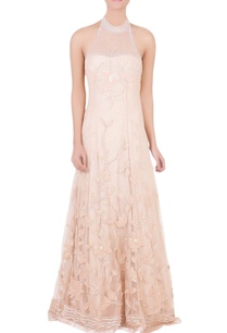 peach-gown-with-floral-motif