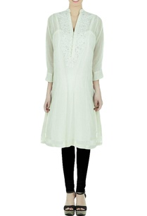 off-white-embellished-kurti