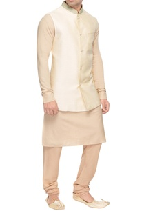 beige-bandhi-jacket-with-embroidered-collar