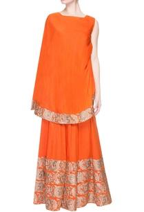 orange-gharara-pant-set-with-embroidery