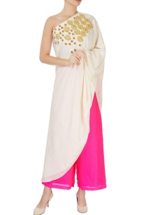 ivory-asymmetric-one-shoulder-kurta