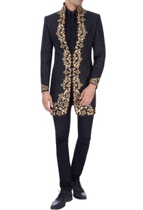 black-embroidered-sherwani-with-sequins-work
