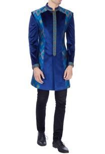 blue-paneled-sherwani
