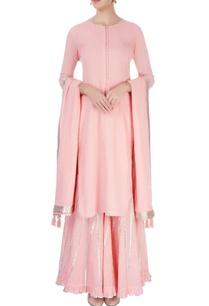 pastel-pink-sharara-set