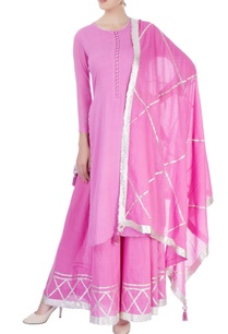 candy-pink-kurta-sharara-set