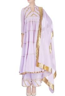 lavender-flared-kurta-with-palazzo