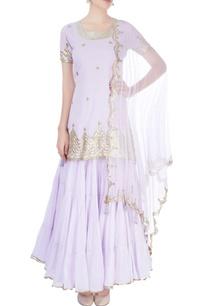 lavender-kurta-with-skirt-dupatta