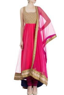 pink-gold-embroidered-anarkali-set
