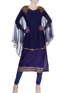 navy-blue-embroidered-kurta-set