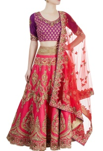 pink-purple-embroidered-lehenga-set