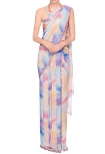 multi-colored-embellished-sari