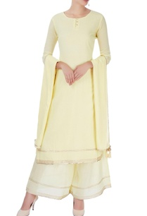 pastel-yellow-kurta-set