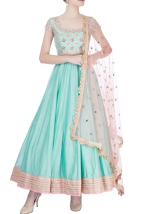 sea-blue-pink-embroidered-anarkali-set