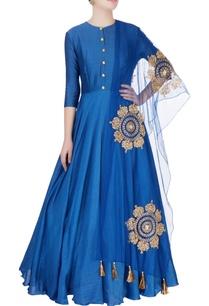 royal-blue-anarkali-with-dupatta