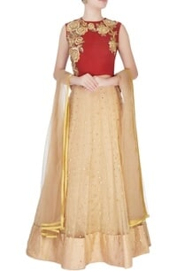 gold-embroidered-lehenga-set