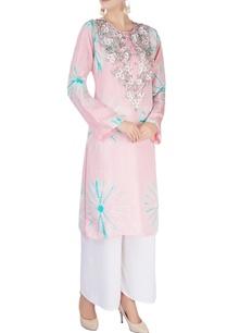light-pink-embellished-kurta