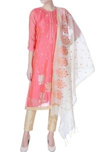 coral-pink-lotus-print-kurta