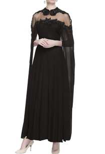 black-sequin-embroidered-gown