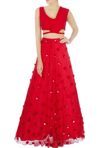 red-sari-gown-with-attached-drape