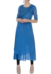 blue-kurta-with-cutwork-layer