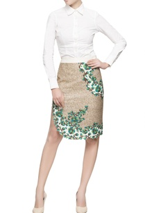 multicolored-bead-sequin-embellished-skirt