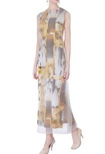 multicolored-abstract-printed-midi-dress