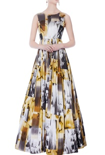 multicolored-abstract-printed-gown