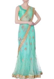 aqua-net-sari-raw-silk-blouse