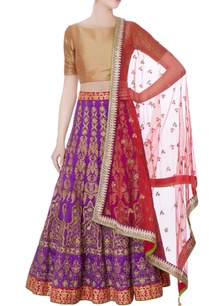 purple-raw-silk-lehenga-with-dupatta-blouse-piece