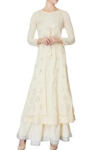 white-kurta-with-jacket-palazzos