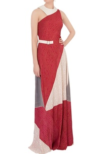 multi-colored-patched-double-georgette-dress
