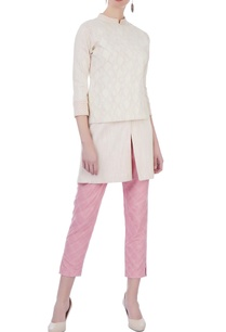 pink-spun-silk-textred-trousers