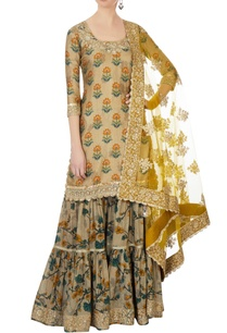 beige-sequin-raw-silk-sharara-set