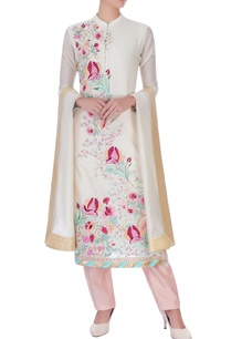 ivory-chanderi-silk-embroidered-long-kurta-set