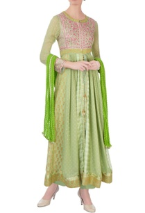 green-pink-gota-embroidered-anarkali-set