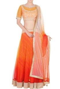 orange-red-embellished-lehenga-set
