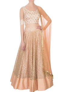 peach-embroidered-lehenga-set