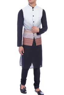 multicolored-ombre-nehru-jacket