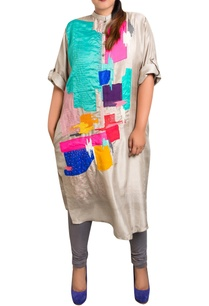 grey-dupion-silk-graphic-print-kurta