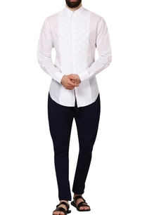 white-dobby-cotton-formal-shirt
