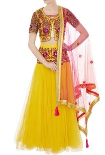 yellow-gota-resham-embroidered-lehenga-set