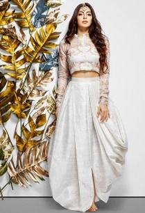 white-hand-embroidered-crop-top-skirt