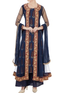 navy-blue-net-embroidered-kurta-set