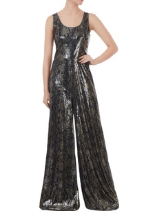 black-sequin-fabric-jumpsuit