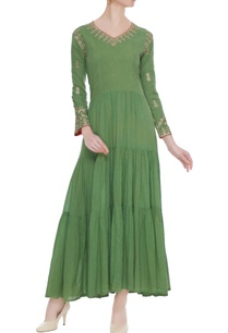 green-tiered-style-anarkali